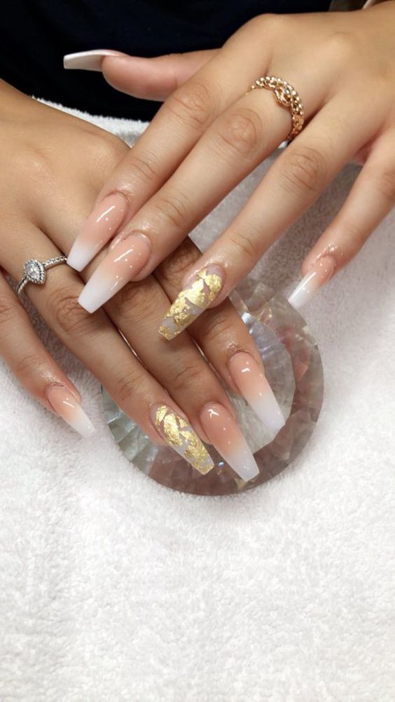 Events ombre nails