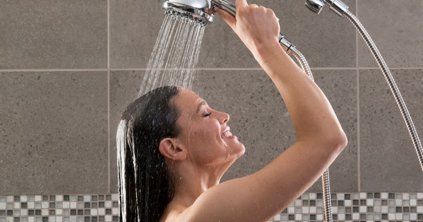 Change your Shower Routine