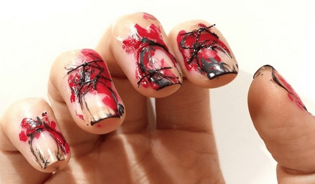 Bloody nails